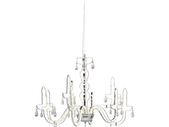 Kare Design - suspension silhouette chrome led - Suspension