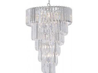 Kare Design - suspension bergkristall spiral 9 - Lustre