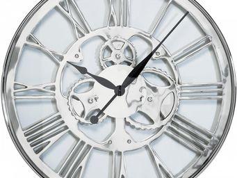 Kare Design - horloge gear 60cm - Horloge Murale