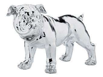 Kare Design - déco bulldog silver 42 cm - Statuette