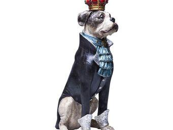 Kare Design - tirelire king dog - Statuette