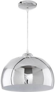KOKOON DESIGN - lampe suspendue shine en métal chromé 20x32cm - Suspension