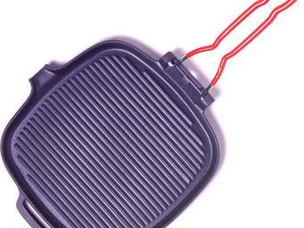 INVICTA - gril carré en fonte - Réchaud