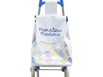 THE CONCEPT FACTORY - chariot monsieur madame pour enfant blanc & bleu - Chariot De Marche