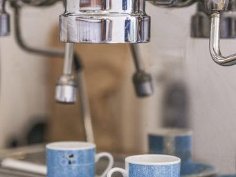 PUCKATOR - set de 2 tasses à expresso avec sous tasses - Mug