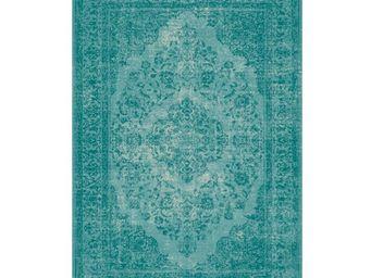 WHITE LABEL - tapis lagon 280 x 200 cm - oriental - l 280 x l 20 - Tapis Contemporain