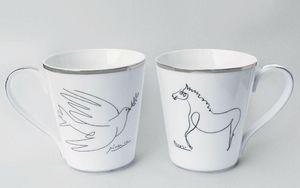 MARC DE LADOUCETTE PARIS - le cheval & la colombe - Mug
