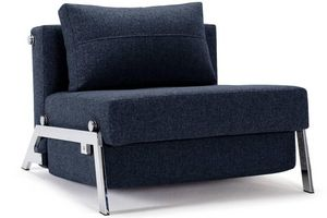 WHITE LABEL - innovation living fauteuil lit design sofabed cube - Fauteuil Lit