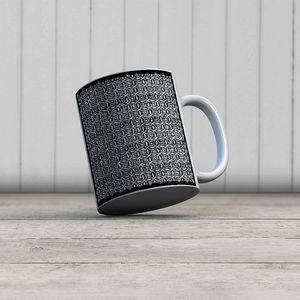 la Magie dans l'Image - mug anis noir blanc - Mug