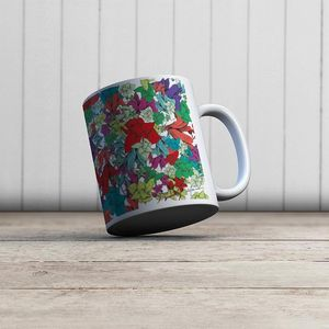 la Magie dans l'Image - mug fleurs - Mug