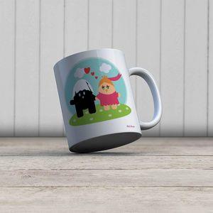 la Magie dans l'Image - mug héros calimero - Mug