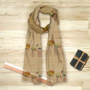 la Magie dans l'Image - foulard 3 poppies - Foulard Carré