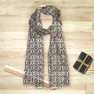 la Magie dans l'Image - foulard anis blanc noir - Foulard Carré