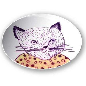 la Magie dans l'Image - assiette mon petit chat - Assiette De Présentation