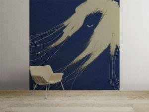la Magie dans l'Image - grande fresque murale de loin bleu - Papier Peint Panoramique