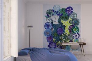 la Magie dans l'Image - grande fresque murale la somnambule - Papier Peint Panoramique