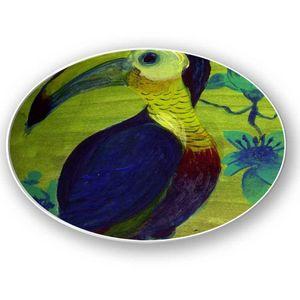 la Magie dans l'Image - assiette toucan - Assiette De Présentation