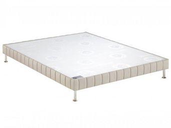 Bultex - bultex sommier tapissier confort ferme pierre 110 - Sommier Fixe À Ressorts