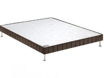 Bultex - bultex sommier tapissier confort ferme vison 90*1 - Sommier Fixe À Ressorts