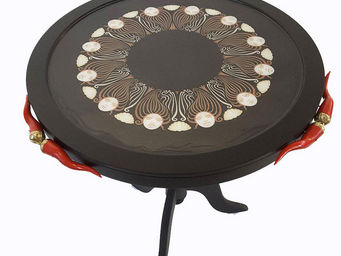 RELOADED DESIGN - mini table verso sud good luck horns - medium - Table Basse Ronde