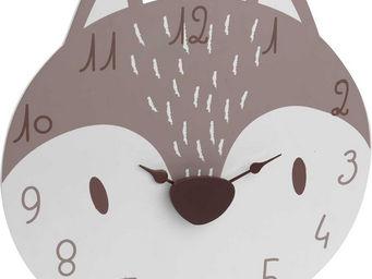 Amadeus - horloge gaspard le renard - Horloge Enfant
