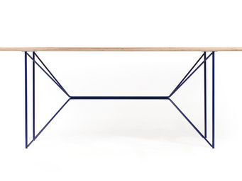 MALHERBE EDITION - table butterply - Table Bureau