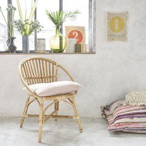 BOIS DESSUS BOIS DESSOUS - fauteuil en rotin vintage - Fauteuil