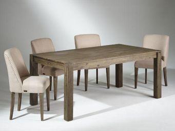 Robin des bois - enzo - Table De Repas Rectangulaire