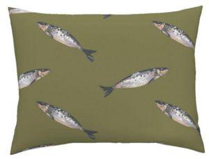 CAMILLE DEPRET - sardines - Tissu D'ameublement
