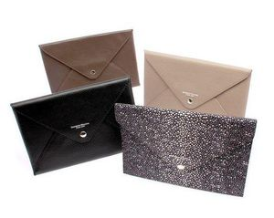 Benneton - enveloppe cuir--- - Porte Cartes De Visite