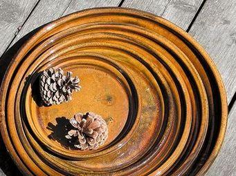 Les Poteries D'albi - soucoupe chataignier - Dessous De Pot De Jardin