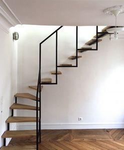 TRESCALINI -  - Escalier Un Quart Tournant