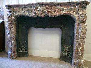 A LA FRANCAISE  -  SMCA - cheminée louis xv - Cheminée À Foyer Ouvert