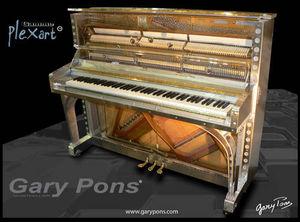Gary Pons France - gary pons 125 platinium - Piano Droit