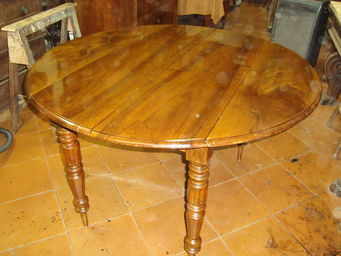 ANTIQUARIATO A. A. ZANNA -  - Table À Abattant