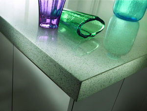 SILESTONE et ECO BY COSENTINO - eco whiate diamond - Plan De Travail