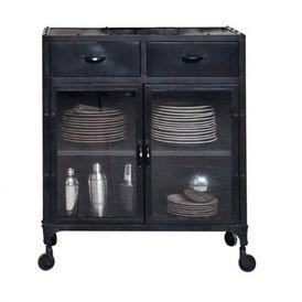 buffet vitr edison vaisselier maisons du monde decofinder. Black Bedroom Furniture Sets. Home Design Ideas