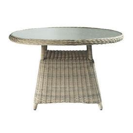 Table diner saint rapha l table de repas ronde for Maison du monde salon de jardin saint raphael