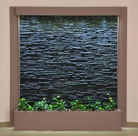 murmure d 39 tranche d 39 ardoise mur d 39 eau multicolore. Black Bedroom Furniture Sets. Home Design Ideas