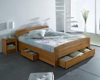 lit 140 3 tiroirs harmonie lit double tiroirs abc meubles. Black Bedroom Furniture Sets. Home Design Ideas