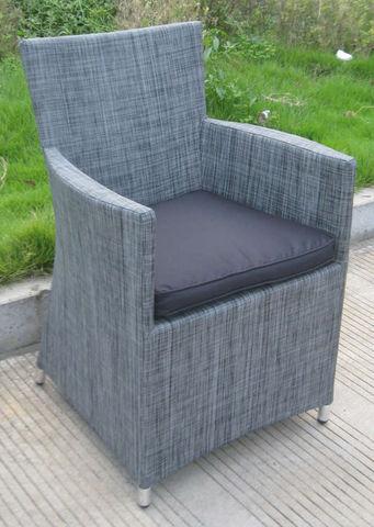 Fauteuil Jardin Textilene Chaise Pvc