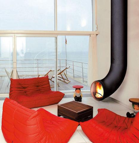 renzofocus chemin e foyer ferm noir acier focus. Black Bedroom Furniture Sets. Home Design Ideas
