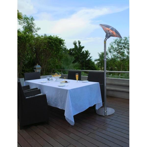 chauffage de terrasse lectrique 2100 watts pise parasol. Black Bedroom Furniture Sets. Home Design Ideas