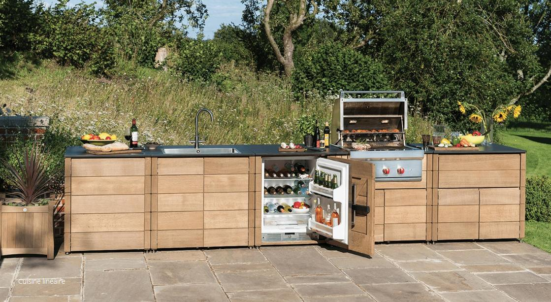 cuisine d 39 ext rieur naturel bois gaze burvill decofinder. Black Bedroom Furniture Sets. Home Design Ideas