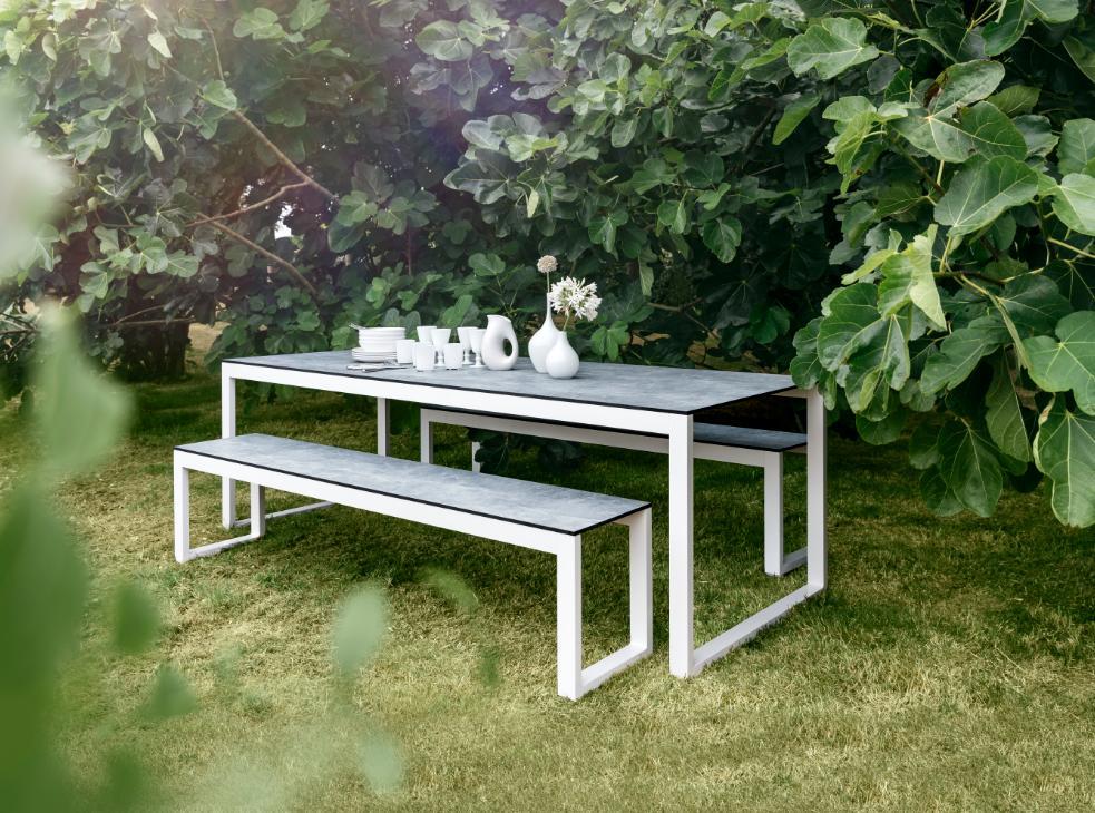 Perspective - Table de jardin - Gris - Roland Vlaemynck | ...