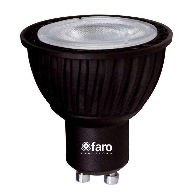 ampoule led gu10 5w 35w 4000k 340lm ampoule led faro. Black Bedroom Furniture Sets. Home Design Ideas