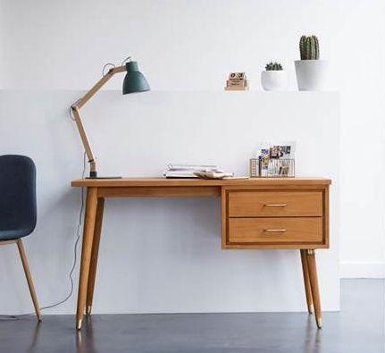 kort bureau enfant naturel tikamoon decofinder. Black Bedroom Furniture Sets. Home Design Ideas