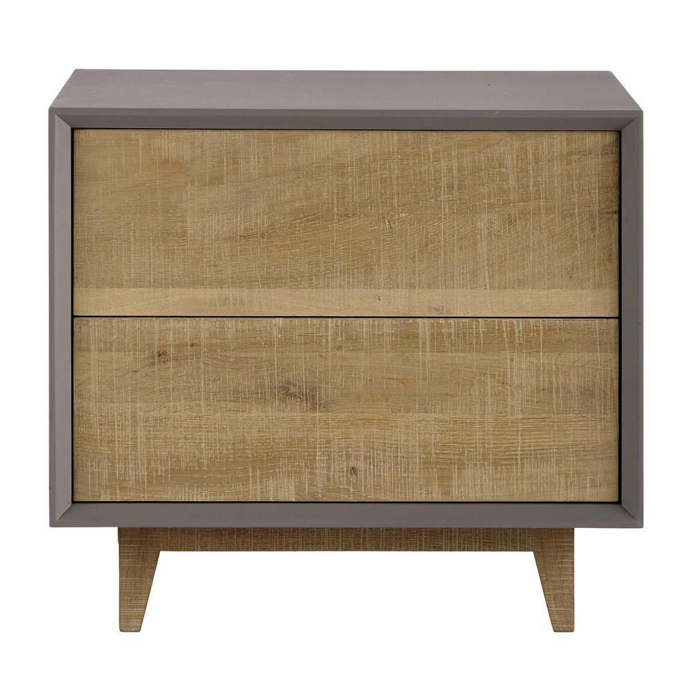 vermont table de chevet maisons du monde decofinder. Black Bedroom Furniture Sets. Home Design Ideas