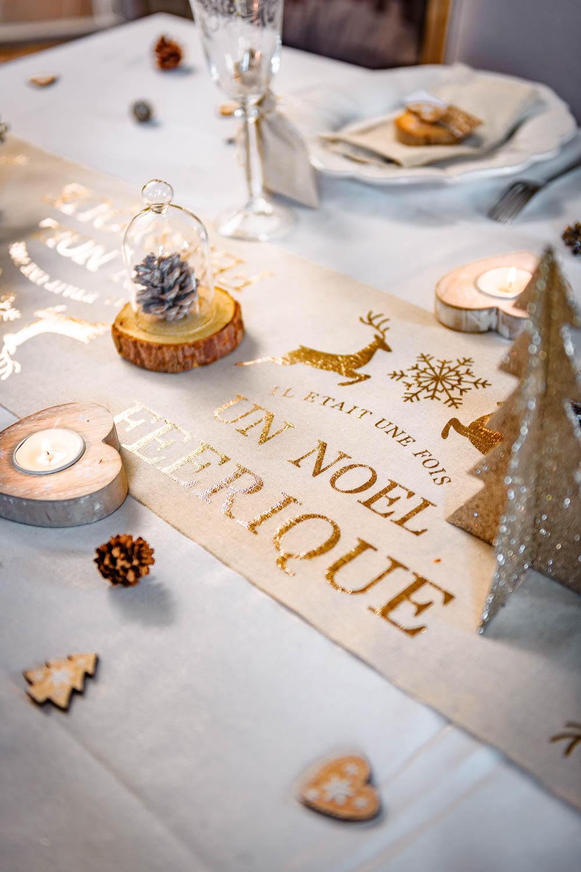 Decoration De Table De Noel Good Latest Latest Deco Rouge Et Blanc