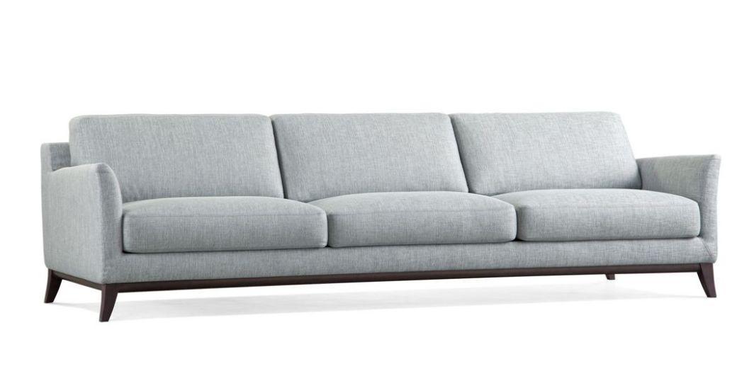 m taphore canap 3 places gris tissu roche bobois. Black Bedroom Furniture Sets. Home Design Ideas